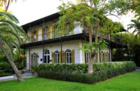 Hemingway Home and Museum, Key West, Florida. Photo courtesy Hemingway Home and Museum.