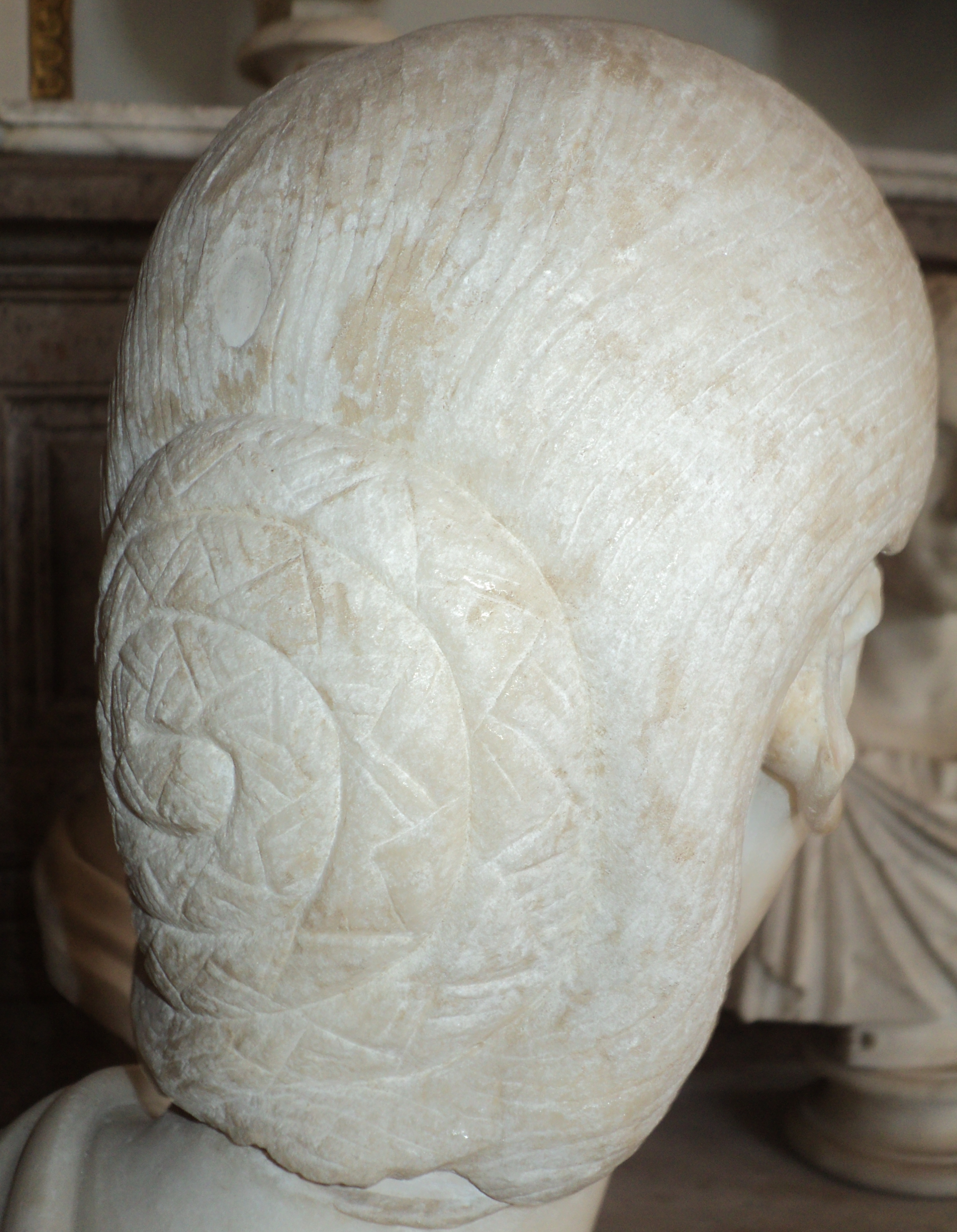 The History Blog » Blog Archive » Roman hair from the Capitoline ...