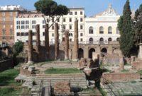 Circular Temple built by Quintus Lutatius Catulus in 101 B.C. Largo di Torre Argentina