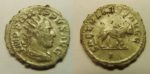 Coin of Philip I, lion reverse. Photo courtesy the Somerset County Council.