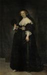 Rembrandt van Rijn (1606–1669), 'Portrait of Oopjen Coppit', 1634. Purchased by the Republic of France for the Musée du Louvre