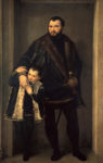 Paolo Veronese, Count Iseppo da Porto, c. 1552. Baltimore, Walters Art Museum and Florence, Galleria degli Uffizi, Contini Bonacossi Collection