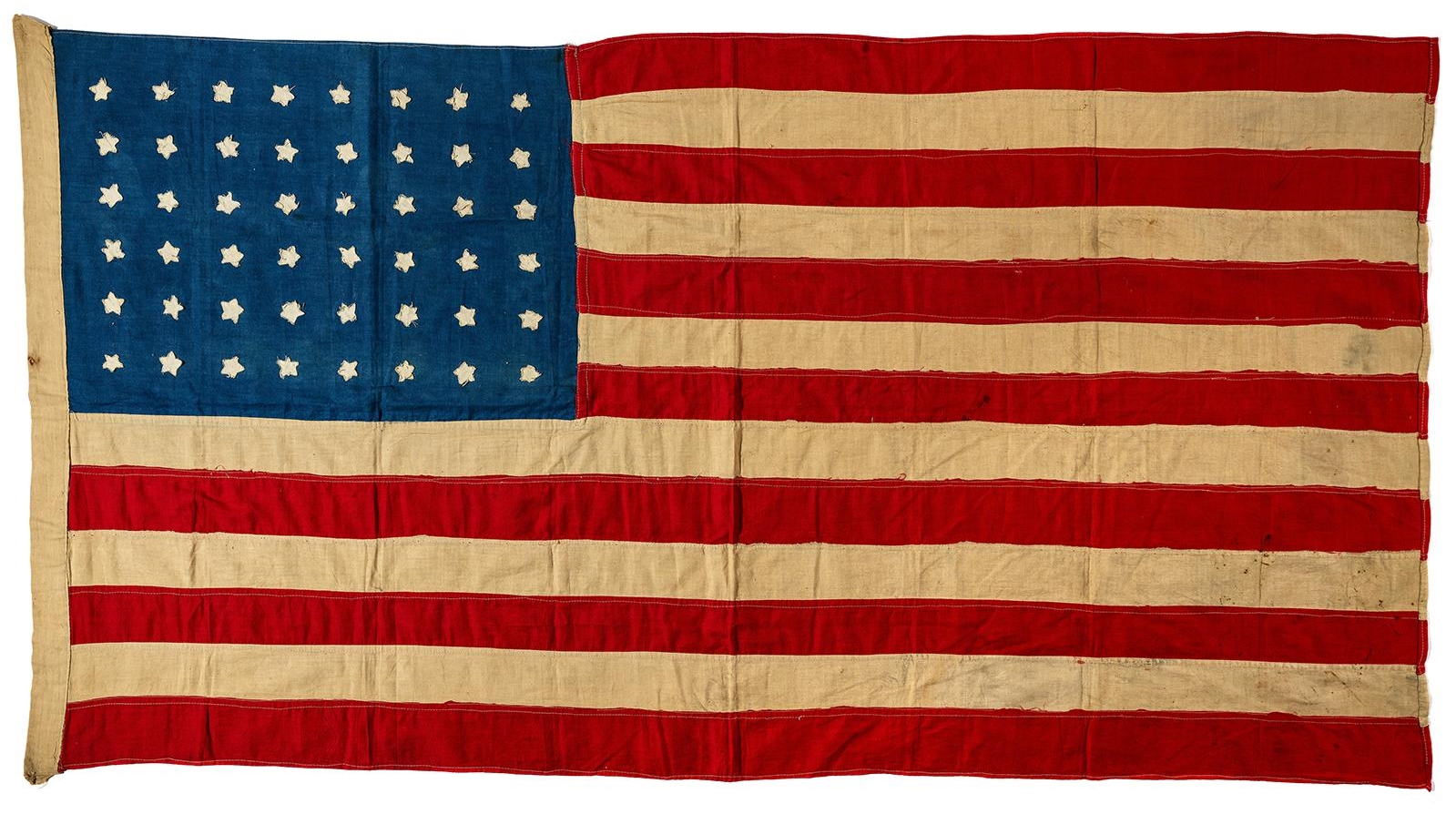 The history blog for The american flag history
