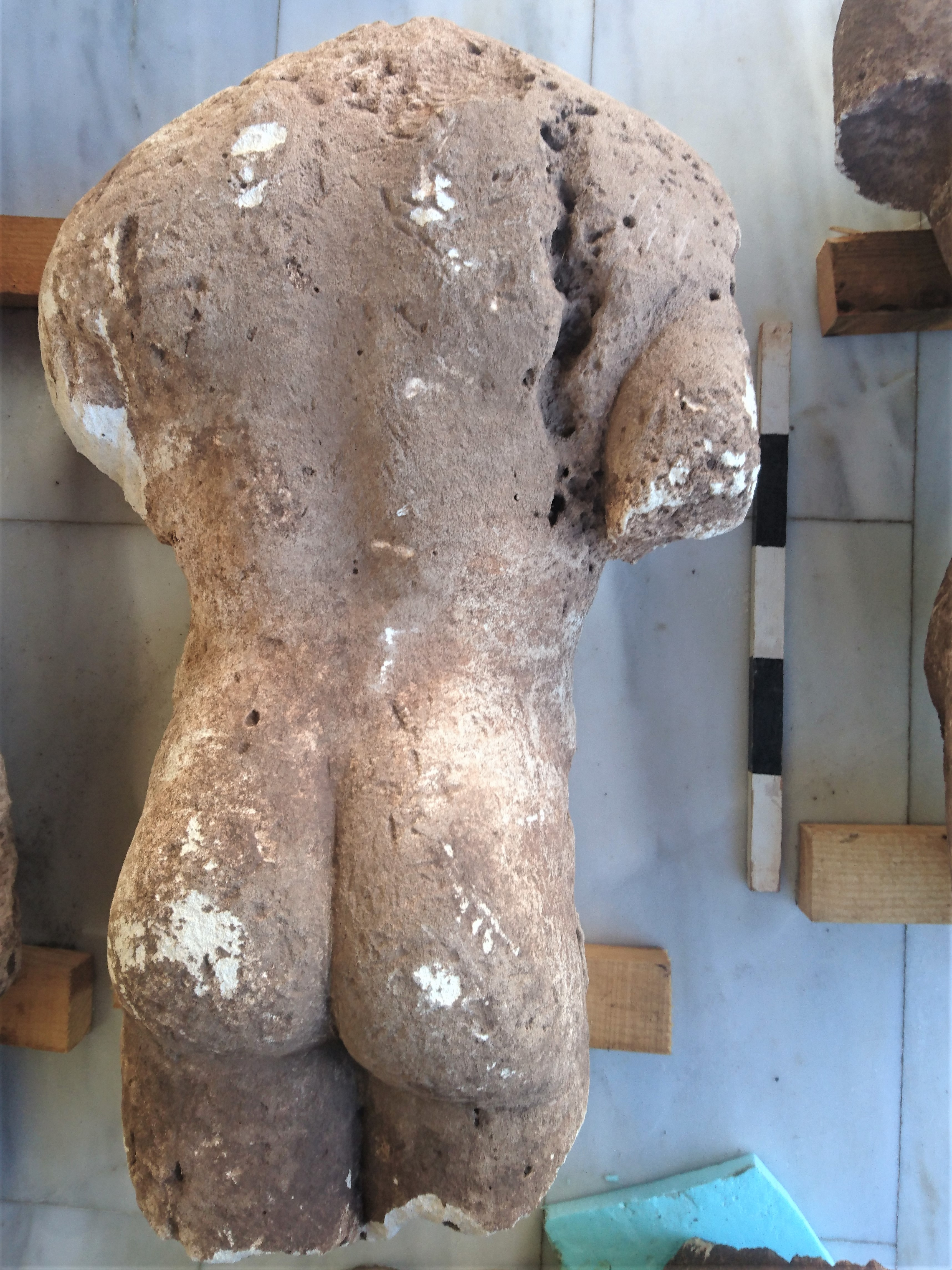 Archaeologists have discovered four Archaic era kouros ...