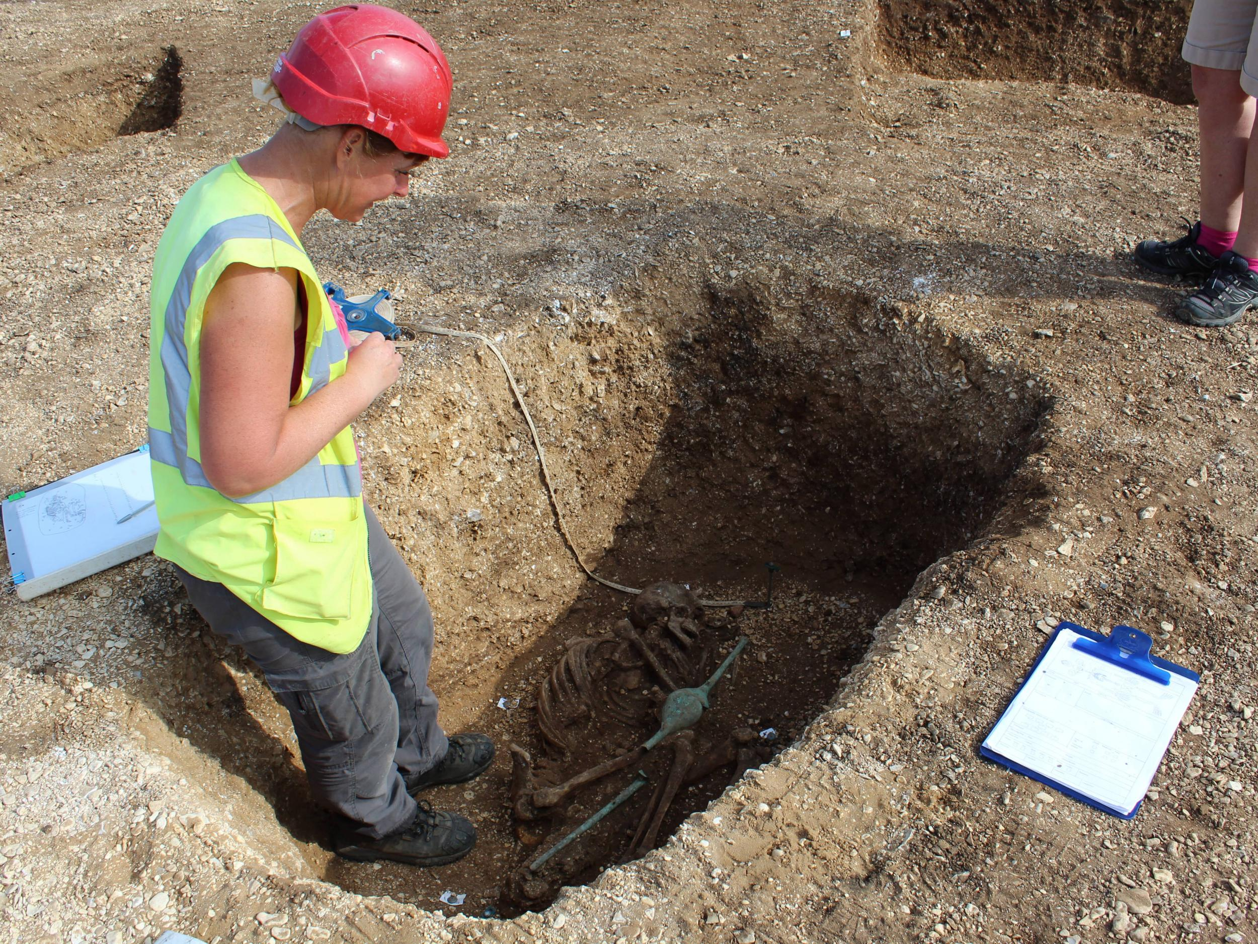 Blog Archive » Iron Age speared corpse burial found