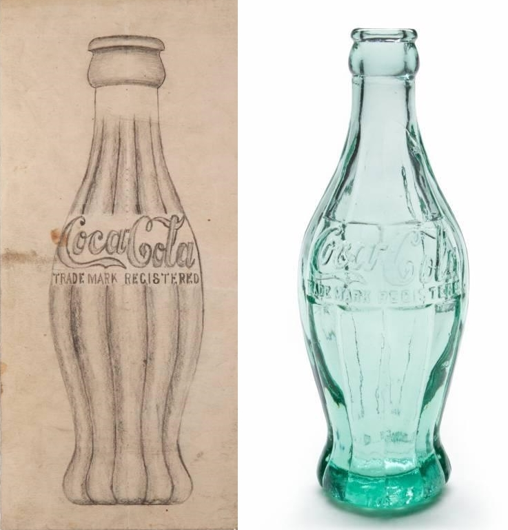 antique bottle dating coke