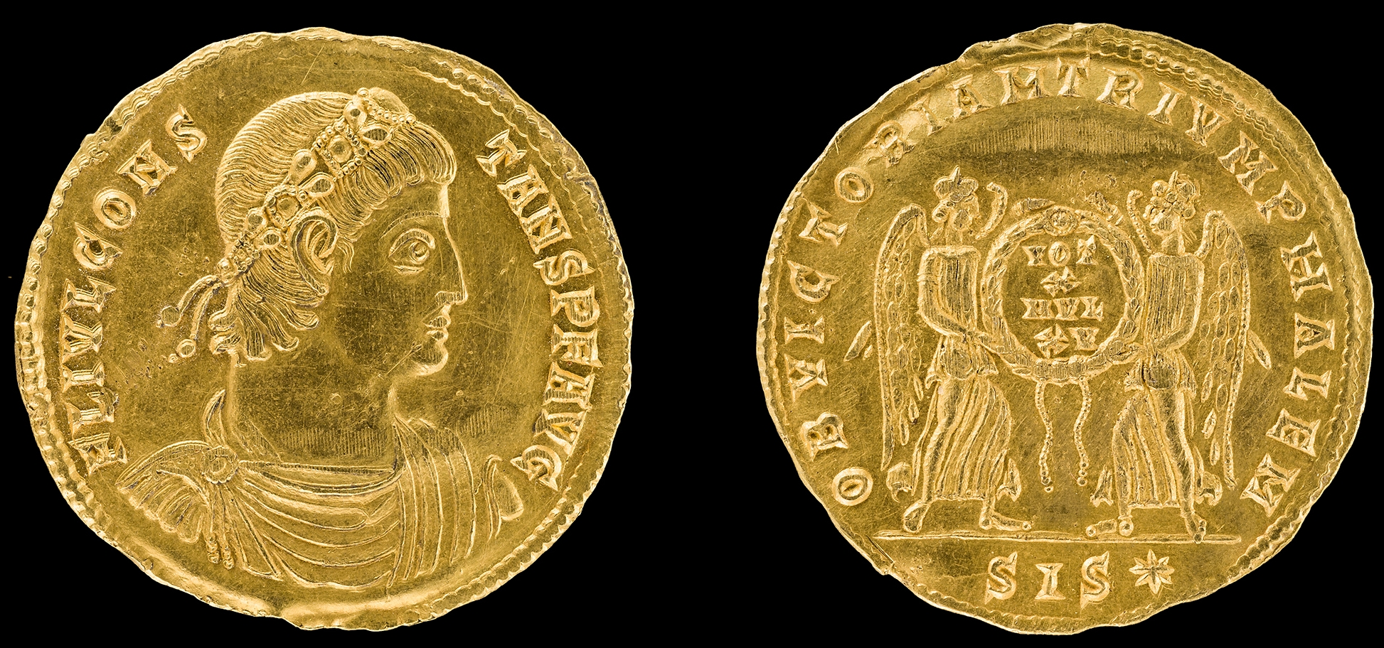 The History Blog » Blog Archive » Unique Roman gold coin found in