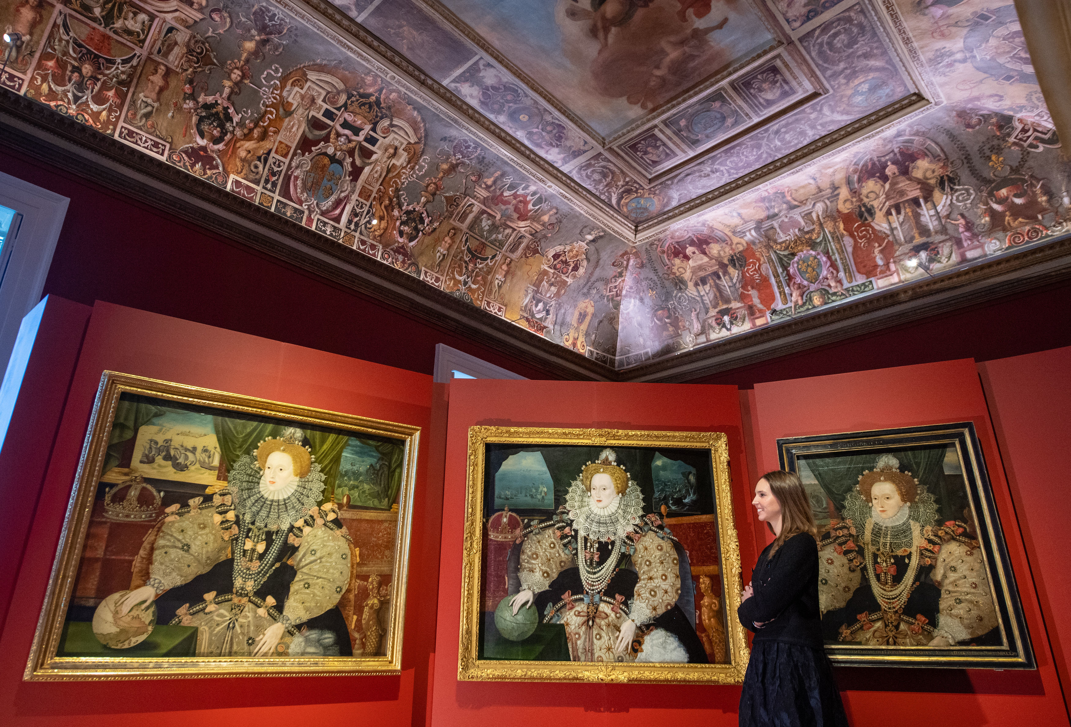 All three iconic Armada Portraits on display together for the first time in 430 years