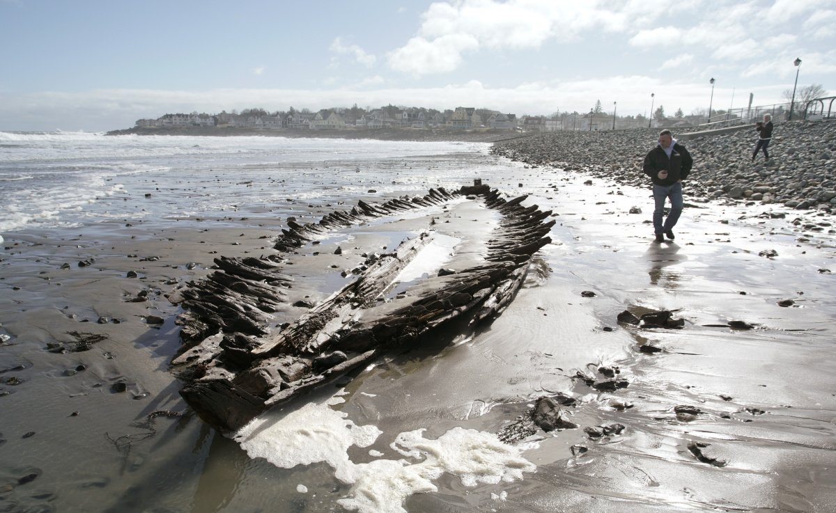 Maine shipwreck identified as Colonial sloop