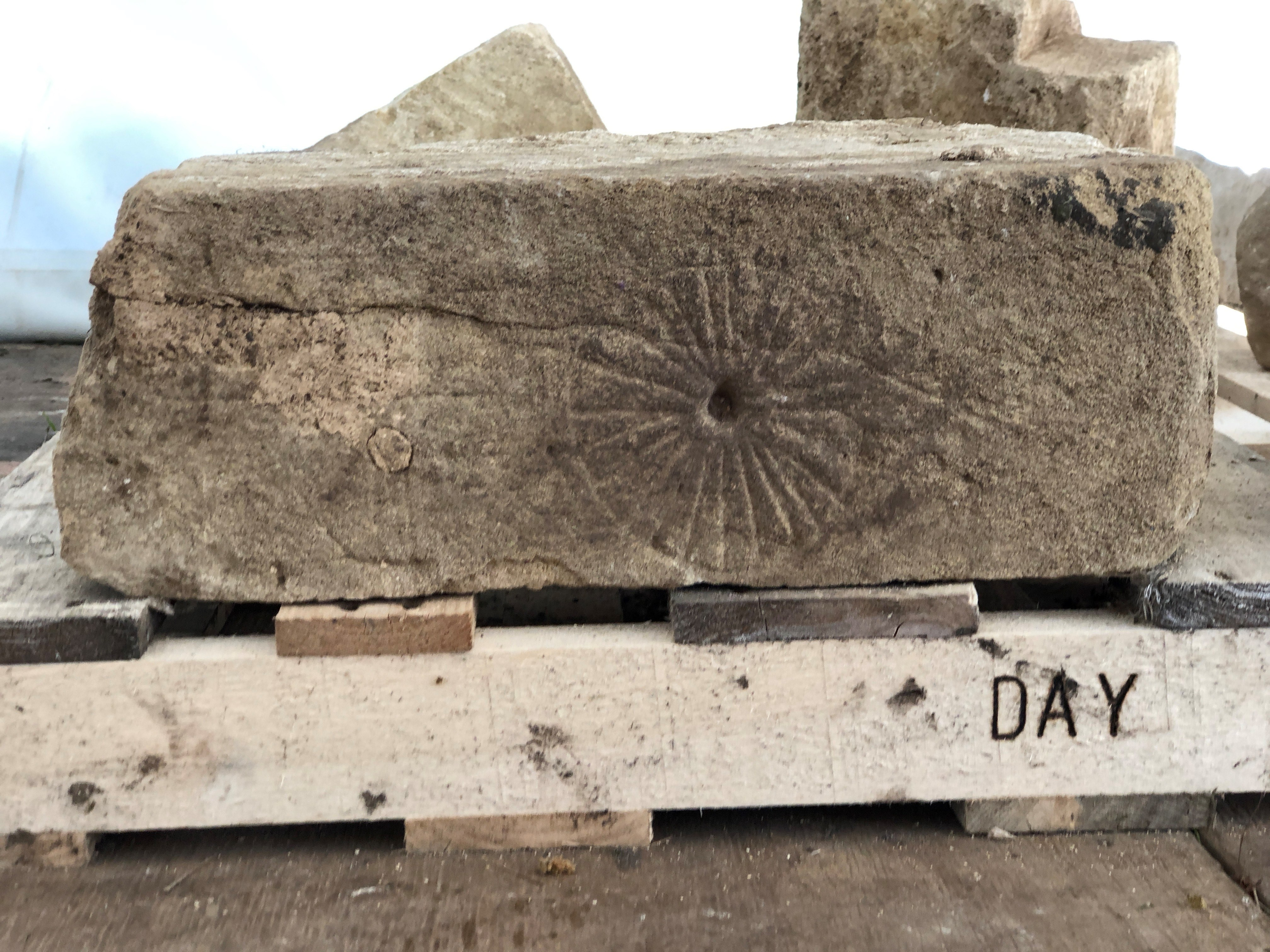 Witches' marks found in ruins of Medieval church