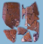 Inscribed tile. Photo courtesy the Yunnan Provincial Research Institute of Cultural Relics and Archaeology.