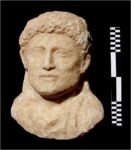 Funerary bust of male. Photo courtesy the Egyptian Antiquities Ministry.