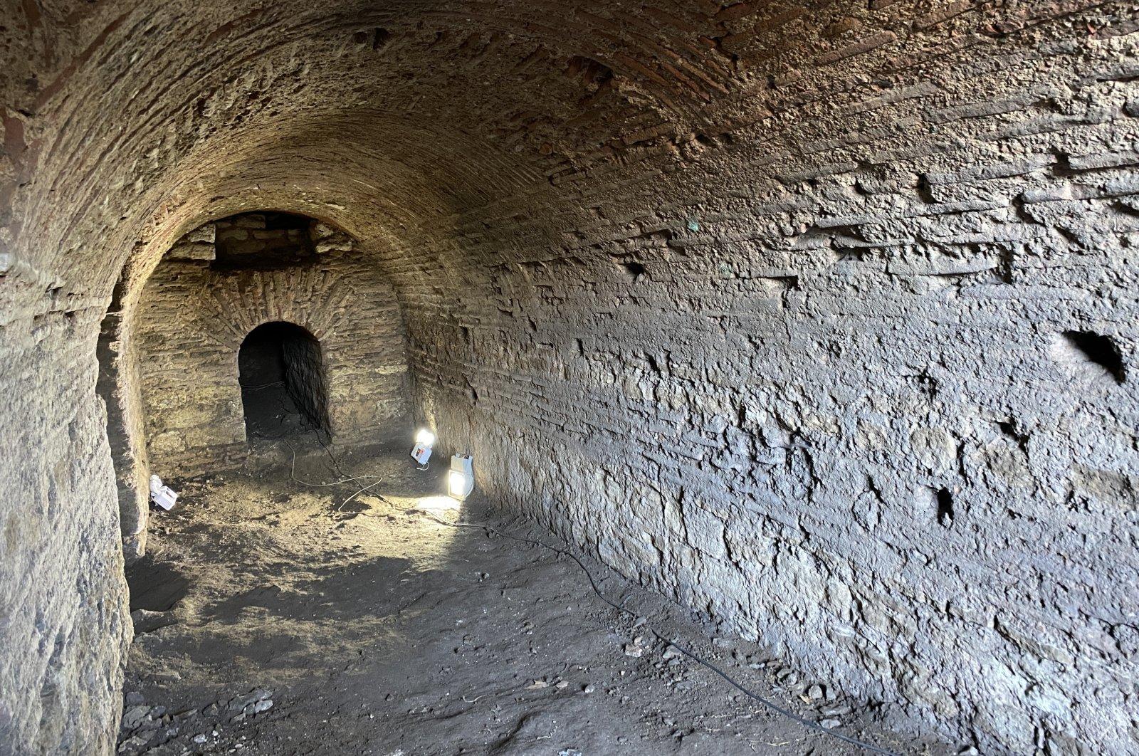 Roman gallery found under Topkapı courtyard