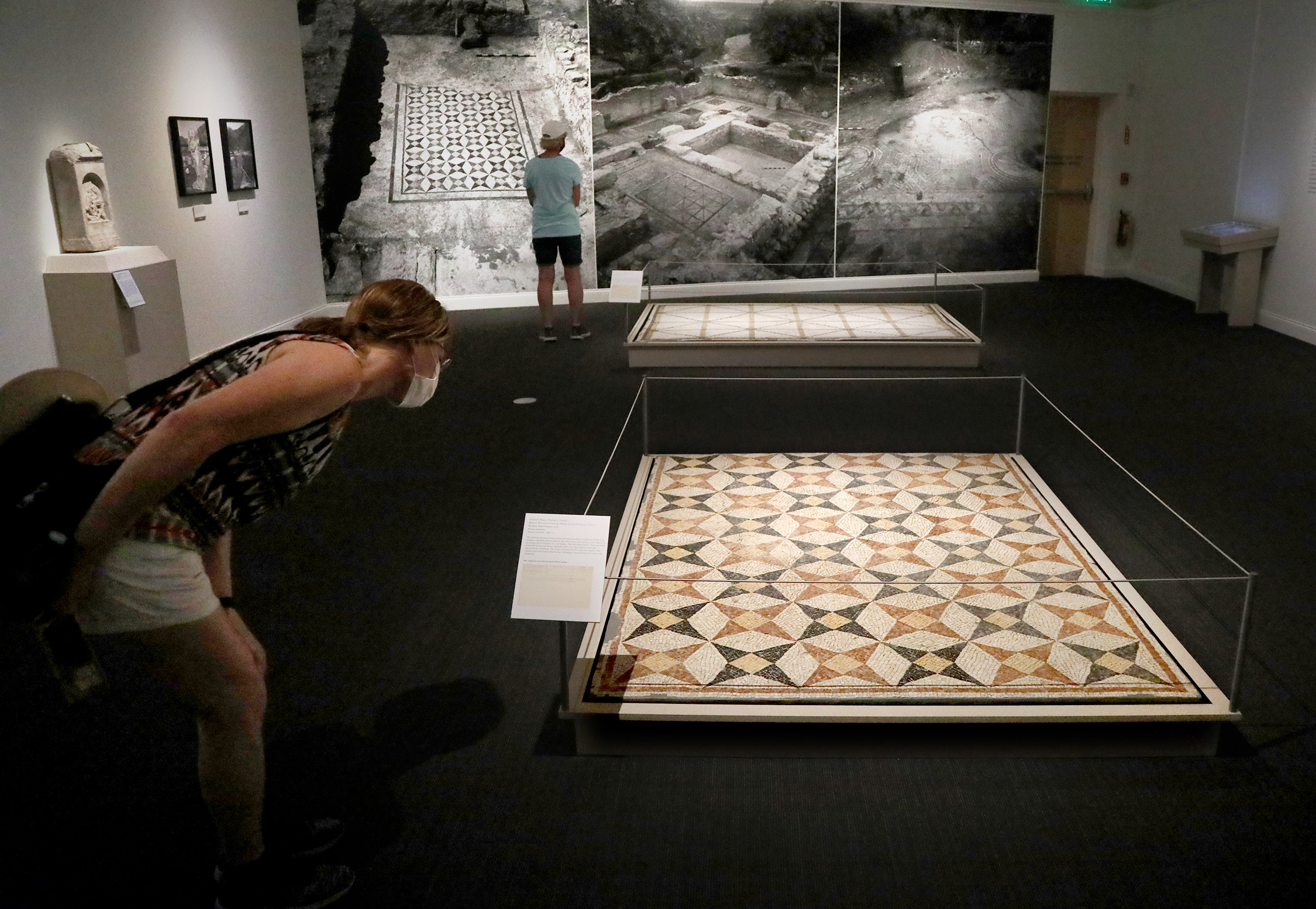The History Blog  » Blog Archive   » Antioch mosaics reclaimed at Florida museum