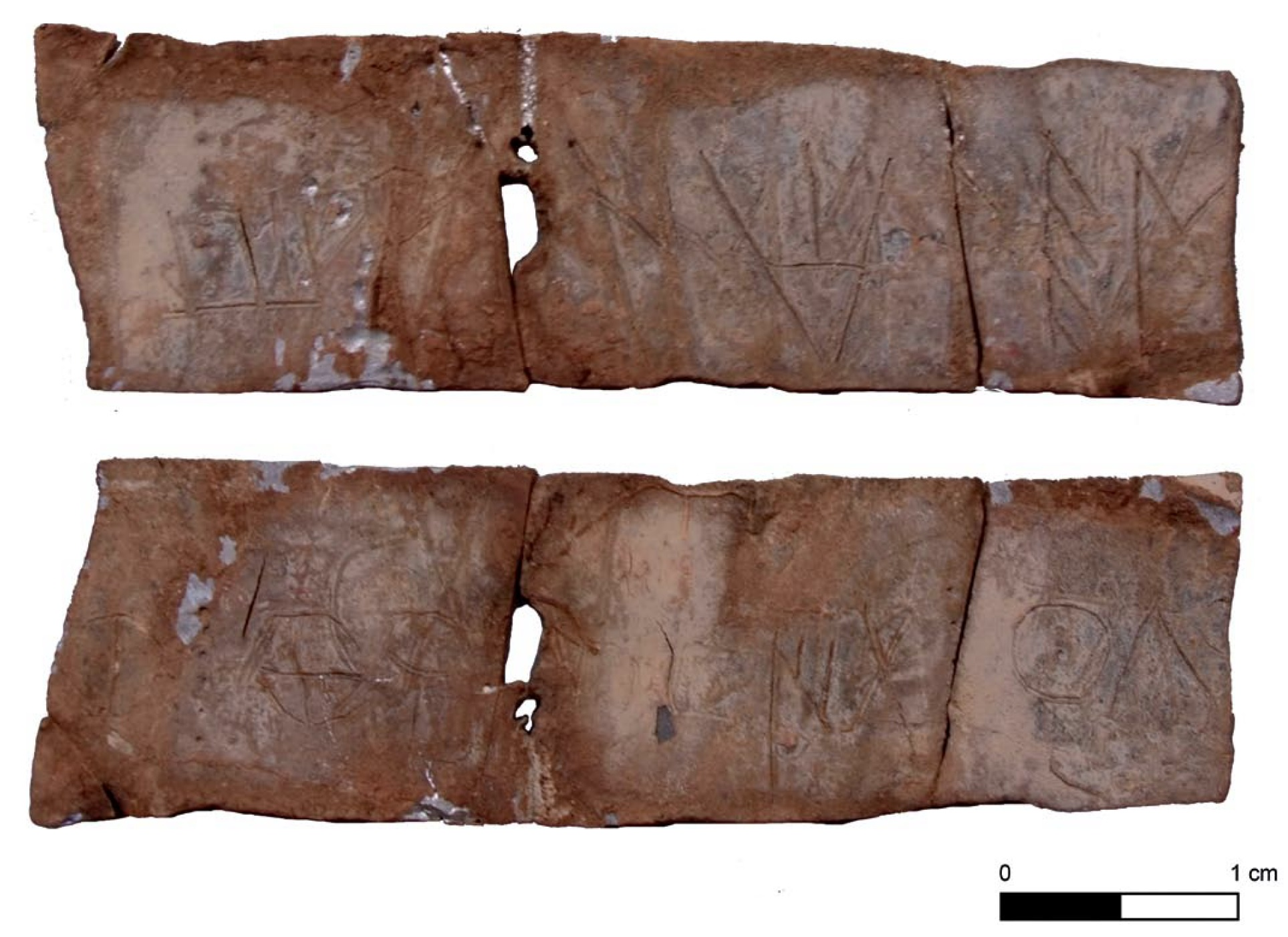 Lead sheet inscribed in archaic Iberian found