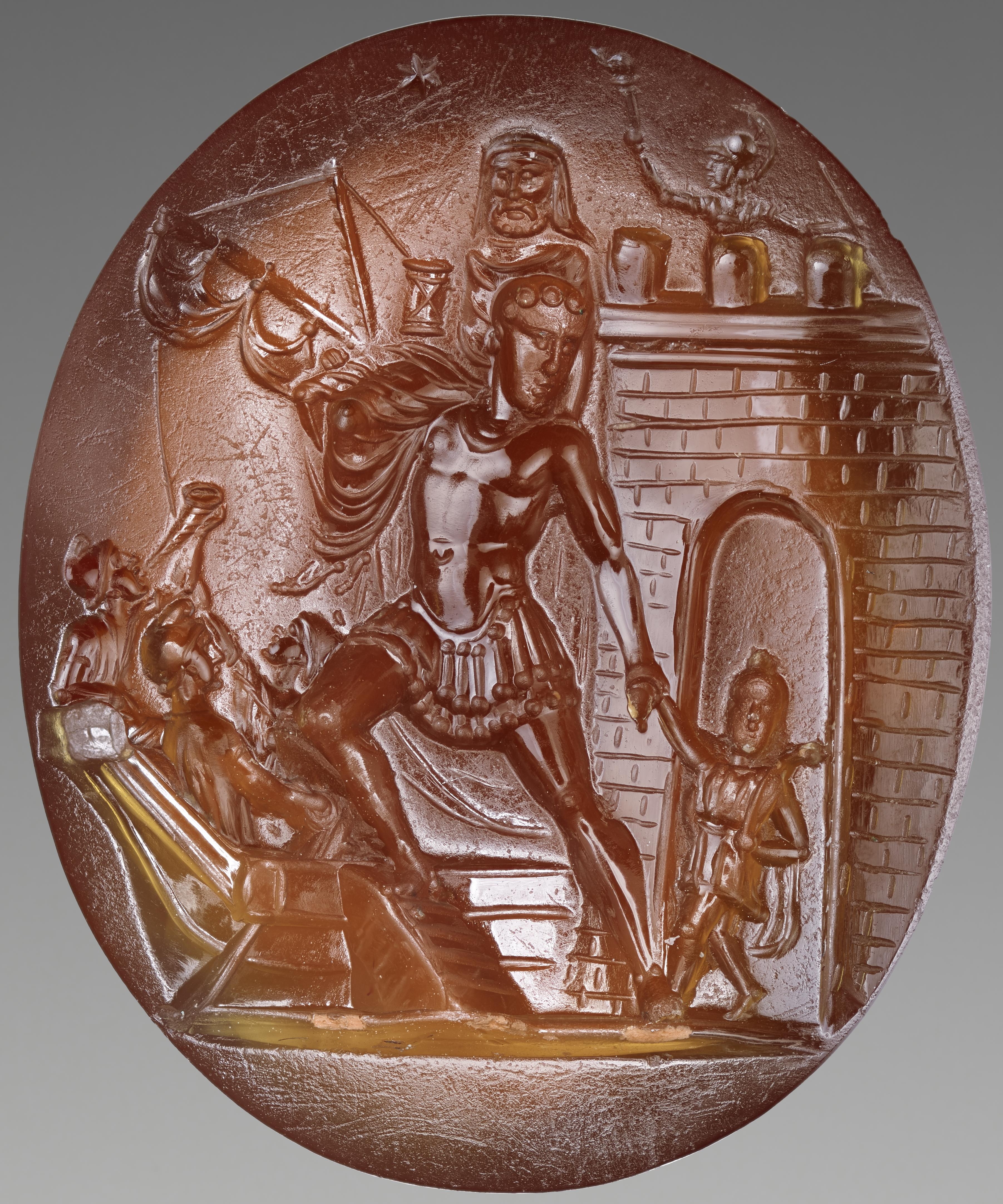 The Getty's stunning Aeneas intaglio